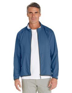 Coolibar - Packbare Sunblocker-Jacke für Herren - Arcadia - Navy, M