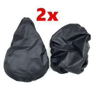 2x Fahrrad-Sattelschutz Sattel Regenschutz Fahrradsattel-bezug sattelueberzug