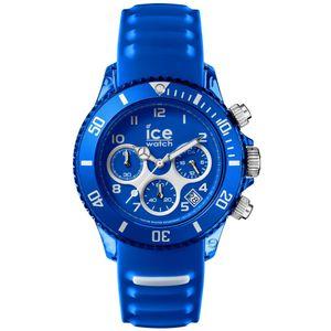 Ice-Watch 012735 ICE aqua skidiver large Chronograph Uhr Datum blau