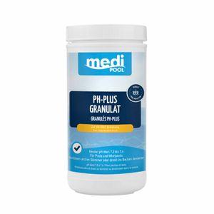 mediPOOL pH-Plus Granulat, pH Heber, pH Regulator, Wasserpflege, Chlorgranulat für den Pool Inhalt:1 kg
