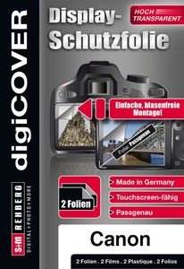 DigiCover B3166, Displayschutz, Canon, PowerShot A3400 IS/A4000 IS