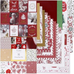 Vivi Gade design Papierblock Weihnachten 30,5 x 30,5 cm 36 Stück