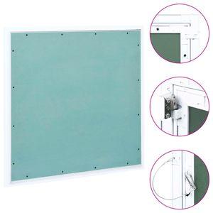 Revisionsklappe mit Alu-Rahmen und Gipskartonplatte 700x700 mm