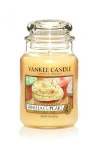 Yankee Candle Vanilla Cupcake, großes Glas