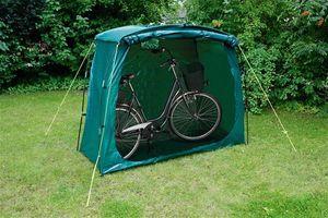 Wehncke Universalgarage / Fahrradgarage PE grün 200x80x150cm