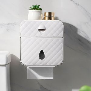 DE Luxury Toilettenpapierhalter Papierhalter Klopapierhalter Feuchttücher Box