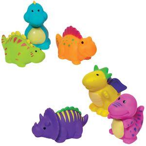 Dinosaurier Dino Wasserspritztiere 6 Stück