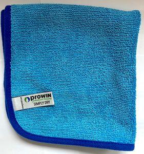 Prowin Simply Dry, 40 x 40 cm, blau, Trockentuch, + DiWa Kugelschreiber
