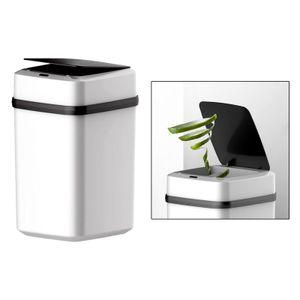 12L Induktions Mülleimer Smart Sensor Office Automatische Mülleimer mit Deckel Klein Induktionsart Kick Touch