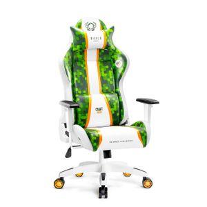 Diablo X-One 2.0 Gaming Stuhl Bürostuhl Schreibtischstuhl Verstellbare Armlehnen Ergonomisches Design Nacken/-Lendenkissen (Craft, Normal)