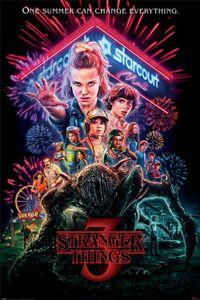 Stranger Things Poster - Summer Of 85 (91 x 61 cm)