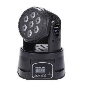 7LED 105W RGB Stage Light (schwarz)