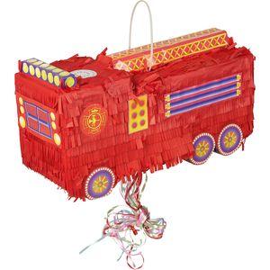 Idena Pinata Feuerwehrauto Idena 46x18x22cm