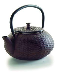 Lacor - 68668 - Teekanne aus Gusseisen 0,8 l - Schwarz