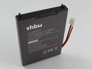 vhbw Li-Polymer Akku 900mAh (3.7V) kompatibel mit Babyphone, Babymonitor Audioline Watch & Care V120, V130, V131, V132, V150 Ersatz für 494251p, BPCK1500LI.