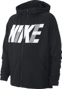 Nike B Nk Dry Gfx Fz Hoodie Black/White M