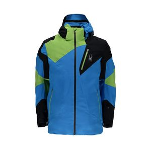 Spyder Herren Ski und Winterjacke Leader Jacket blau french blue, Größe:L