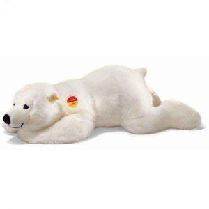 Steiff 115110 - Arco Eisbär, weiß, liegend, 45cm 4001505115110