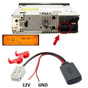 Bluetooth Aux Adapter für PEUGEOT 207 307 407 CITROEN C3 C4 Blaupunkt RD4 N1 Radio