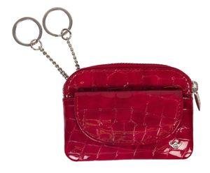 Golden Head Cayenne Zipped Key Case Red