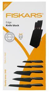 Fiskars - Edge Messerblock mit 5 Messern