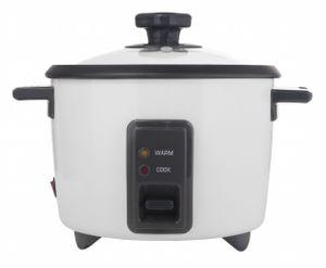 KeMar Kitchenware KRC-110 Reiskocher | Dampfgarer mit Warmhaltefunktion | BPA-Frei | 1,4 Liter