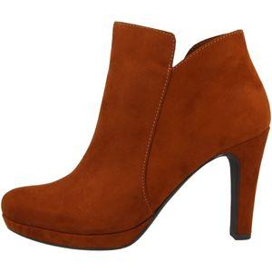 Tamaris Damen Stiefeletten Plateau High-Heel 1-25316-25, Größe:41 EU, Farbe:Braun