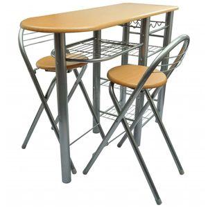 Küchenbar mit 2 Stühlen