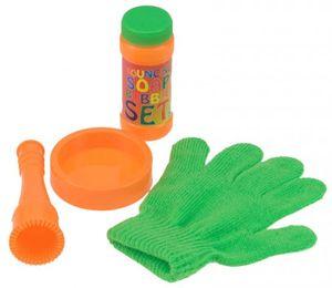 Seifenblasen jonglieren Set hüpfende fangen mit Handschuh