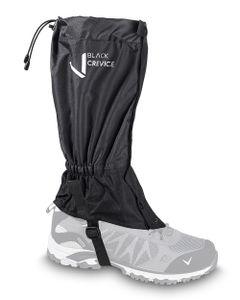 BLACK CREVICE - wasserdichte Outdoor Gamaschen - Schneeschuhwandern/Skitouren/Klettern