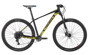 Deed Hardtail Mountainbike Vector 293 29 Zoll 40 cm Herren 11G Hydraulisch Scheibenbremse Schwarz/Gelb