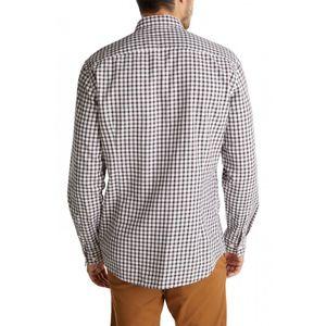 Esprit Men Hemd, Farbe:WHITE 3, Größe:L