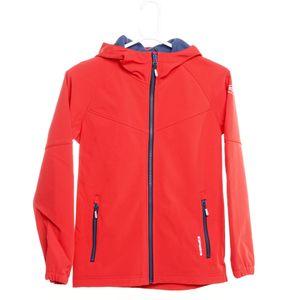 Icepeak Rakin Jr - Kinder Softshelljacke Outdoorjacke - 251817682-651 - rot/dunkelblau , Größe: 116