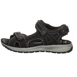 Tom Tailor Damen Sandalen Trekking Synthetikkombination schwarz 36
