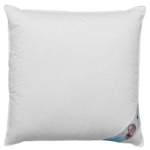 Kopfkissen Premium Dreikammerkissen – Kissen mit hochwertiger Federn & Daunen Füllung und Bezug aus 100% Baumwolle 80 x 80 cm