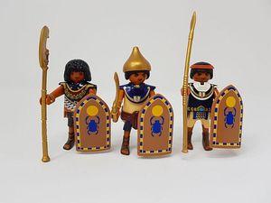 PLAYMOBIL 6488 History - 3 ägyptische Soldaten (Folienverpackung)