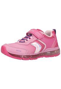Geox J ANDROID Mädchen Sneaker in Rosa, Größe 32