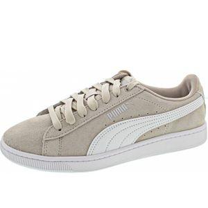PUMA Vikky V2 Damen Low Sneaker Beige Schuhe, Größe:38