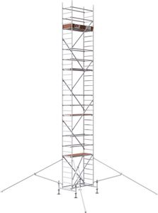ALTEC Rollfix 1000 | inkl. Fussplatten | Standardtraverse | 4x Dreieckausleger | Baugerüst