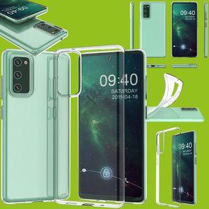 Für Samsung Galaxy S20 FE Fan Edition G780F G781B Silikoncase TPU Schutz Transparent Tasche Hülle Cover Etui