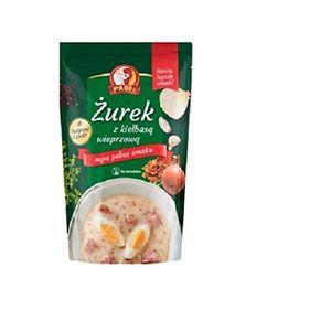 """GroßhandelPL Profi Sauerteigsuppe """"Zurek"""" mit Schweinswurst 6er Pack (6x450g)"""