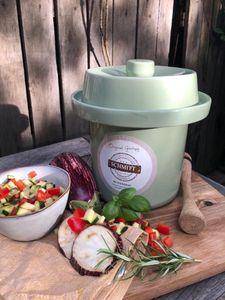 Gärtopf Mini 1 Liter pastell-grün zur schnellen Fermentation