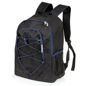 CampFeuer Kühlrucksack 30L, schwarz, Isoliertasche für BBQ, Camping