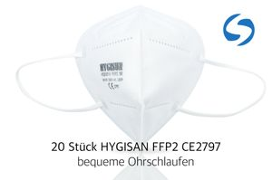 HYGISUN - Atemschutzmaske FFP2 NR - 20 Stck R