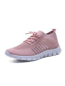 Abtel Damen Atmungsaktive Turnschuhe Greifen In Leichte Schuhe Ein,Farbe: Pink,Größe:40