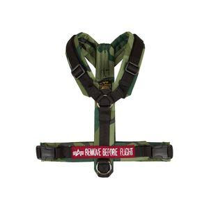 Alpha Industries Dog Harness Hundegeschirr olive camo S