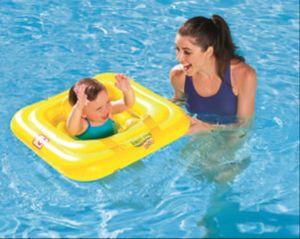 Bestway Swim Safe  Schwimmsitz 1-2 Jahre, quadratisch