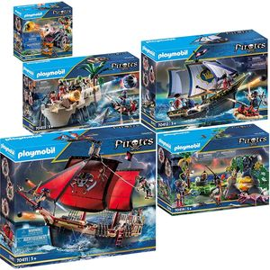 PLAYMOBIL 70411-12-13-14-15 Pirates 5er Set Komple