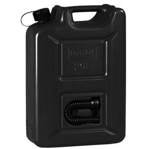 Kraftstoffkanister 20 L Black Edition - Benzinkanister Kraftstoff Kanister mit UN-Zulassung