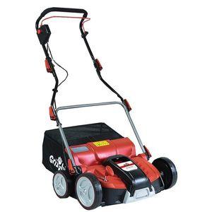 Grizzly Tools 2in1 Elektro Vertikutierer und Rasen Lüfter ERV 1801-37